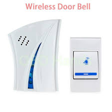 wireless doorbell system with light indicator new arrival 36 different music rings wireless doorbell with led
