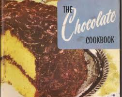 chocolate cookbook etsy