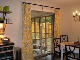 yellow and gray parrot curtains