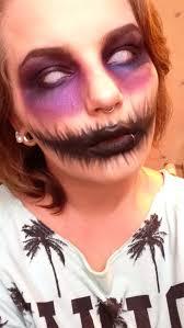 comment faire un maquillage de squelette maquillage femme simple pour halloween à réaliser en un rien de