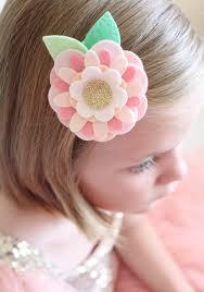 felt hair make felt flower hair daily inspiration from our