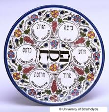 messianic seder plate passover feast of unleavened bread hadavar messianic