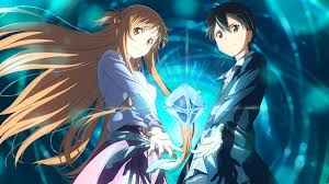 wallpaper baju couple 180 sword art online ordinal scale hd wallpapers background images