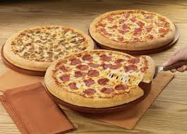how much is a medium pizza at round table pizza hut medium 3 topping pizzas 5 99 each large 3 topping pizza