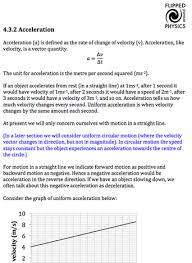 motion along a straight line flipped around physics