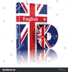 Flag Book English Book National Flag Cover Cd Stock Illustration 221551537