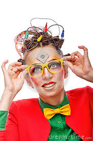 geek hairstyles hairstyle girl geek corrects glasses crazy programmer creative make up