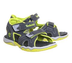best quality timberland kids adventure seeker 2 strap sandals grey