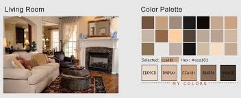 Two Tone Color Schemes by Stunning Color Palette For Living Room Images Home Design Ideas