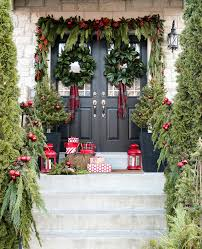 christmas swags for outdoor lights a garland hack and how to make and hang window christmas swag
