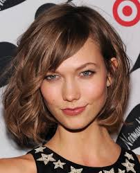 shorter hairstyles with side bangs and an angle for medium hair with bangs layered lob side bang hair bunch ideas