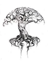 detailed tree drawing at getdrawings com free for personal use