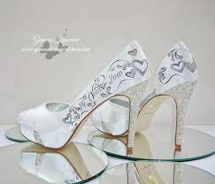 wedding shoes rainbow club personalised wedding shoe competition
