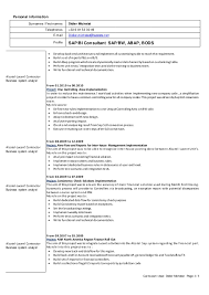 Optician Resume Sample by Cv Didier Michelat 2016 06