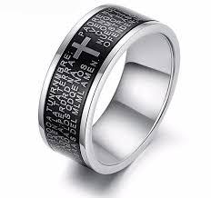 cross rings men images Christian rings stainless steel cross rings rings for men jpg