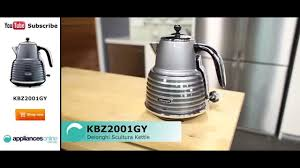 De Longhi Kettle And Toaster Delonghi Scultura Kettle Kbz2001gy Reviewed By Product Expert