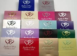 matchbook wedding favors wedding match books 30 strike personalized wedding matchbooks 50