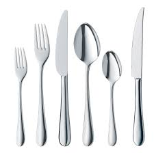 signum 72 piece stainless steel flatware set flatware sets wmf