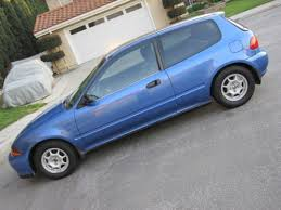 honda civic vx for sale purchase used 49 state federal spec 1993 honda civic vx well