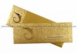 hindu wedding card golden hindu wedding card