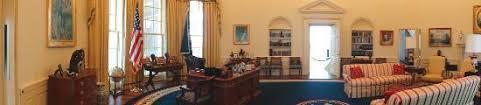more oval office replica picture of william j clinton