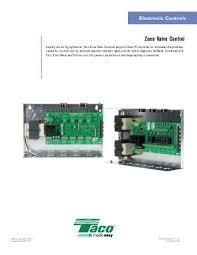 zone controls wire guide j8680 rev taco hvac