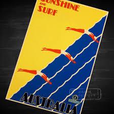 Cheap Home Decor Online Au Online Get Cheap Vintage Travel Poster Australia Aliexpress Com