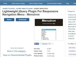 Html Top Navigation Bar Responsive Mobile Menu In Bootstrap