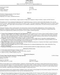 Resumes For Federal Jobs by Federal Resume Samples