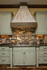 faux brick kitchen backsplash a brick backsplash for your kitchen is easier than you may think