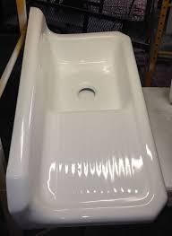 42 inch kitchen sink 1930s kohler cast iron farmhouse sink 42 x 20 8 inch back splash