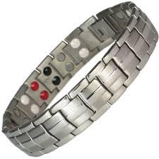 magnetic bracelet with germanium images Mps europe grey silver titanium germanium magnetic bracelet jpg