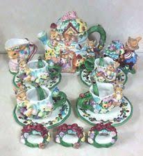 bunny tea set bunny teaset ebay