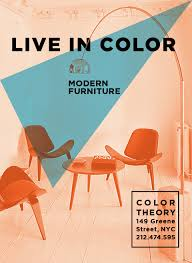 212 Modern Furniture by Color Theorywild Poster Series For Modern Furniture Store