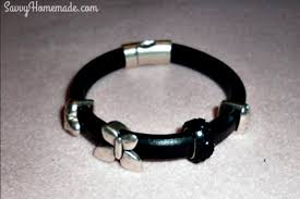 leather bracelet with beads images How to make custom leather bracelets tutorial jpg