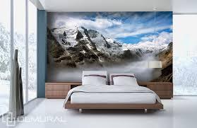 wandtapete schlafzimmer fototapete vlies in den bergen tapete tapeten fototapeten für