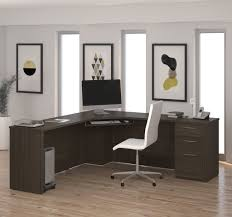 corner desk chair office modern corner office desk cherry finish home office