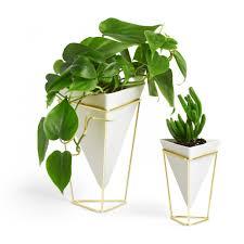 trigg vase white umbra
