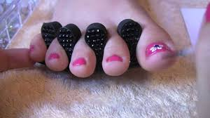 get sandal ready feet how to pedicure toe nail art design