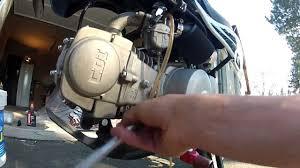 tuto vidange dirt bike 125 youtube