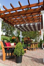 Pergola Roof Cover by Exterior 24 Cool Designs Of Pergola Roof For Patio Ideas
