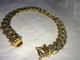 cuban bracelet images 10k gold iced out miami cuban bracelet dfine lifestyle online jpg