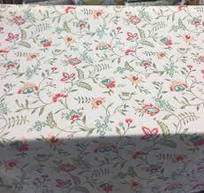 details about waverly carolina crewel bloom fabric by the yard
