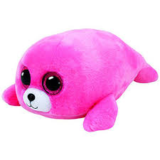 ty beanie boo pierre pink seal 6