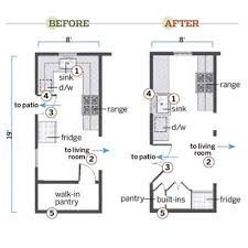 Small Kitchen Floor Plans With Islands Unique Charming Small Galley Kitchen Layout Floor Of Plans Find