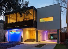 modern home design texas