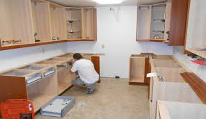 best way to install base cabinets installation builder supply outlet kitchen cabinets how