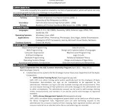 computer science resumes resume templateer science sleser doc student cv word scientist