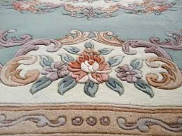 Chinese Aubusson Rugs Kangshi Aubusson Green Chinese Carpets N 2407 300x200cm