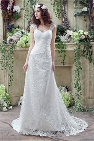 Wedding Dresses With Straps Sweetheart Corset Back Lace Wedding Dress With Straps